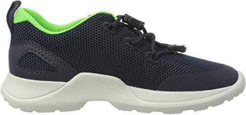 Superfit Jungen Rush Sneaker, Grau (Blau/Grün 80), 37 EU