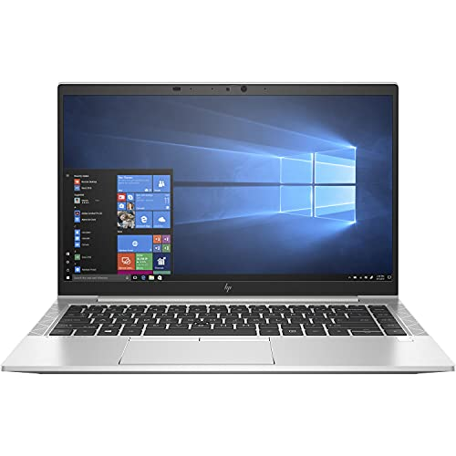 HP Elitebook 845 G7 Everyday Value Laptop (AMD Ryzen 7 PRO 4750U 8-Core, 16GB RAM, 8TB PCIe SSD, AMD RX Vega 7, 14.0' Full HD (1920x1080), Fingerprint, WiFi, Win 10 Pro) with Security Software