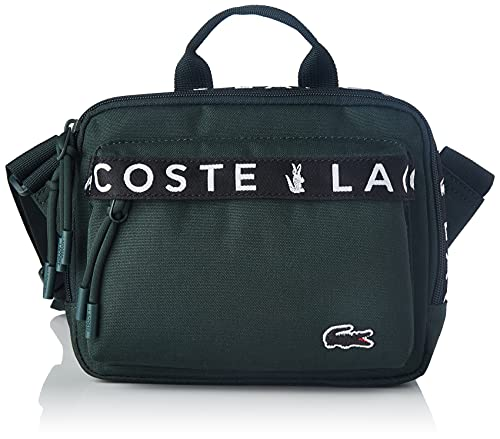 Lacoste NH3667NZ, waistbag Homme, jacquard sinople, Taille unique
