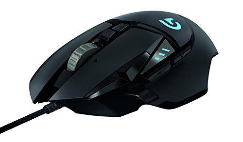 Logitech G - G502 Proteus Spectrum - Mouse de Hasta 12,000 DPI con Iluminación RGB para Gaming - Negro