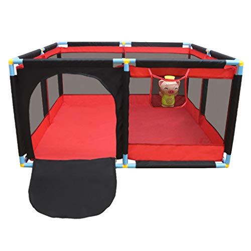 Read About Baby Playpen Household Protective Fence Foldable Baby Safety Barrier Kids Activity Centre...