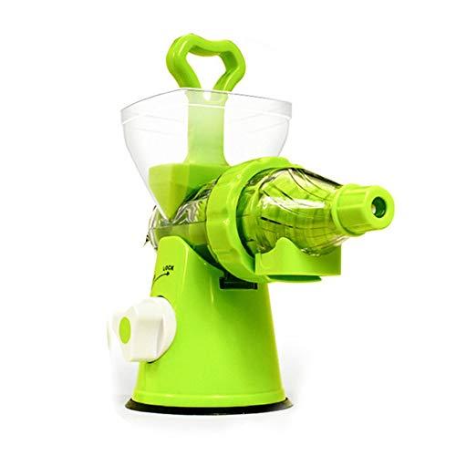 Manuelle Entsafter Fresh Apple Orange Juicer Maschinengesundheit Küchenwerkzeuge grün