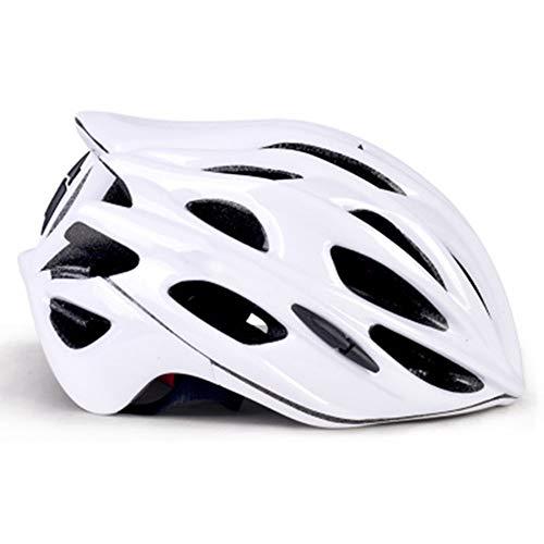 Fahrradhelm Einteiler Fahrradhelm Rennrad Herren Damen Reithelm Schutzhelm, farbe, Redblack