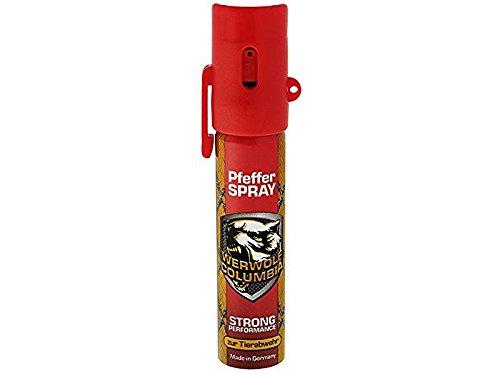 Wewolf Columbia Pfeffer Spray, Strong Performance 20 ml, 1 Stück, 4054626052017