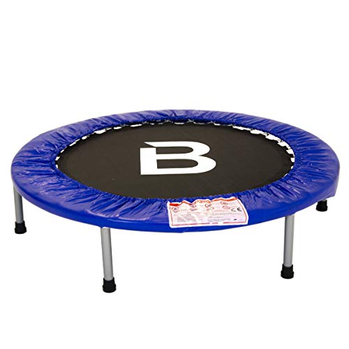 Charles Bentley 40' 3ft Mini Fitness/Exercise Rebounder Trampoline Trampette Fitness