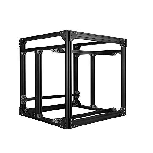 Z Altura 565mm Negro BLV MGN Cube 3D Impresora Aluminio Extrusiones Marco Kit w/T Tuercas Tornillos Ángulo Soportes para Impresora CR10 CR-10 3D