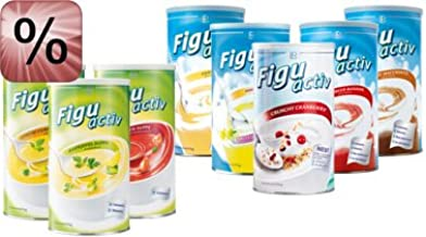 LR Lucky Figuactiv Mix Set of 5A Shakes Soup Estimated Price : £ 139,29