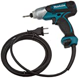 Makita TD0101F atornillador, 230 W, Negro/Azul