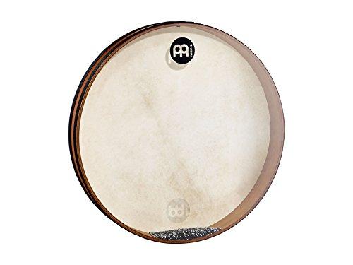 Meinl Percussion FD20SD Sea Drum, Frame Drum mit Kombination aus Ziegenfell und Kunststofffell, 50.8 cm (20 Zoll) Durchmesser, african brown