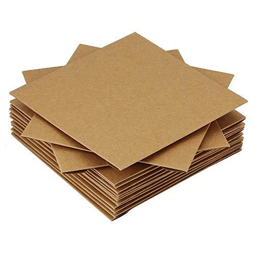 cdケース クラフト紙製 CD 収納 整理 12.5x12.5cm DVD CDペーパー スリーブケース プレゼント 50枚セット 3?5労働日以内配達