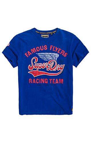 Superdry Famous Flyers tee Camiseta de Tirantes para Hombre