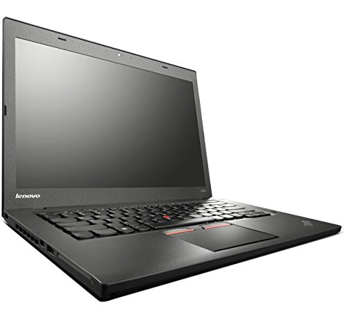 Lenovo ThinkPad T450 14 Zoll HD Intel Core i5 256GB SSD Festplatte 8GB Speicher Win 10 Pro Webcam Bluetooth Notebook Laptop Ultrabook (Generalüberholt)