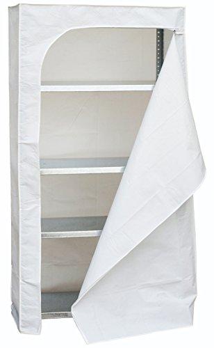Simonrack 90230000088 Funda para estantería, 2000 x 1000 x 400 mm, color blanco