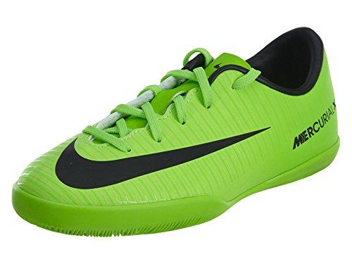 Nike Jungen Mercurial Victory Vi Ic Fußballschuhe, Grün (ELECTRIC Green/Blk-Flsh Lm-Wht), 35.5 EU