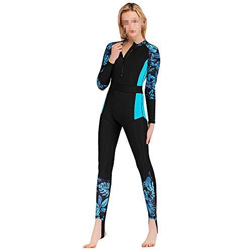 Chyuanhua Wetsuit Duikpak Vrouw Was Dun Slim Surf Pak Siamese Zonnebrandcrème Lange mouwen Zwempak Snorkeling Pak Mannen Duikpak