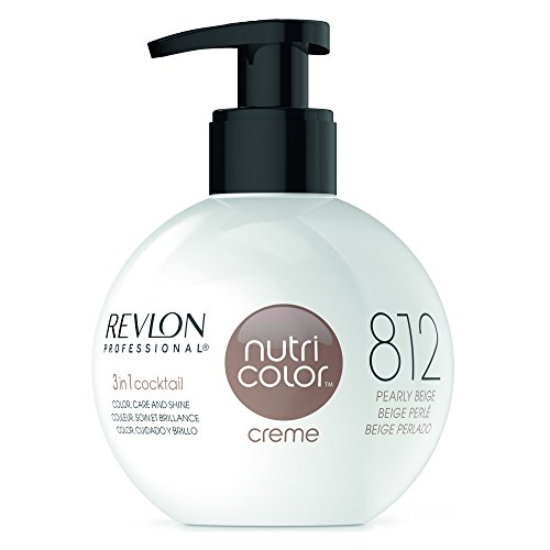 REVLON PROFESSIONAL Nutri Color Crème, Nr. 812 Pearly Beige, 1er Pack (1 x 270 ml)