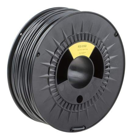 RS PRO 2.85mm Grey PLA 3D Printer Filament, 1kg