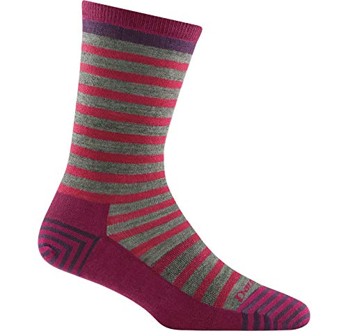 Darn Tough Morgan Crew Lightweight Sock - Women's Boysenberry Small