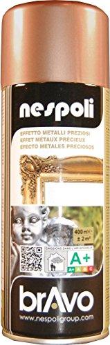 Nespoli N0PCA40096 Bomboletta Spray, Rame metallizato, 400ml