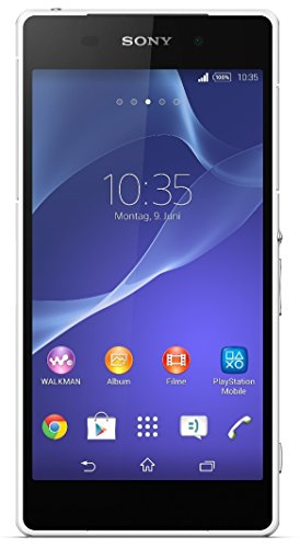 Sony Xperia Z2 Smartphone (5,2 Zoll (13,2 cm) Touch-Display, 16 GB Speicher, Android 4.4) weiß