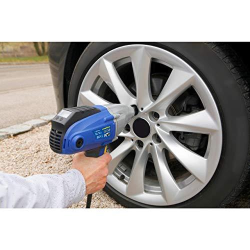 GOODYEAR 75544 Schlagschrauber 230 V, für Autoreifen, Radwechsel, Reifenwechsel, Drehmoment bis 500 Nm, im Koffer mit 4 Nüssen
