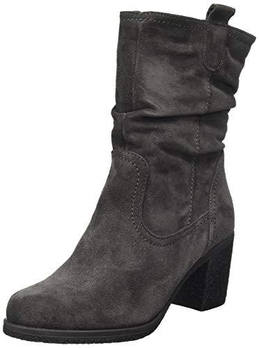 Tamaris Damen 1-1-26083-23 Hohe Stiefel, Grau (Anthracite 214), 38 EU