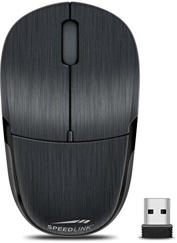 Speedlink JIXSTER Mouse - Kabellose Maus für Desktop oder Notebook - schwarz