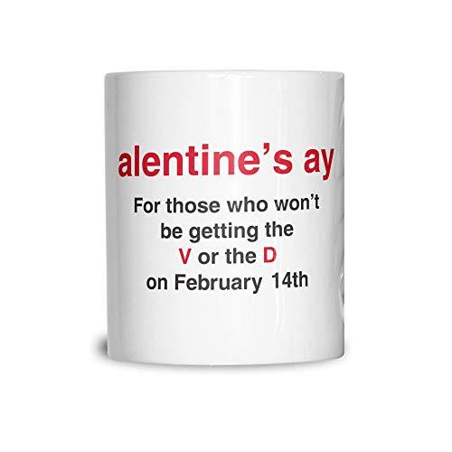 Saint-Valentin Unique Tasse en céramique Ay grossier Joke Alentine White 11OZ