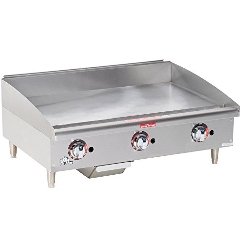 """Commercial Griddle - Gas, Thermostat Controls 24""""W"""