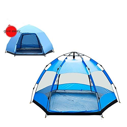YAOHONG Outdoor tents, tents for outdoor camping thickened, ultra-light automatic equipment, outdoor camping tents, tent rain Travel tent (Color : B)