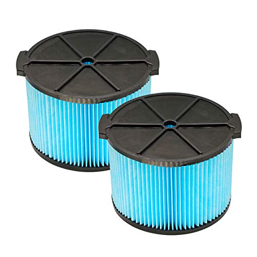 YUEFENG VF3500 Replacement Filter for Ridgid Wet Dry Vacuum 3-Layer Filters for WD4050 WD4070 WD4522 Vacuum (2 PACK)