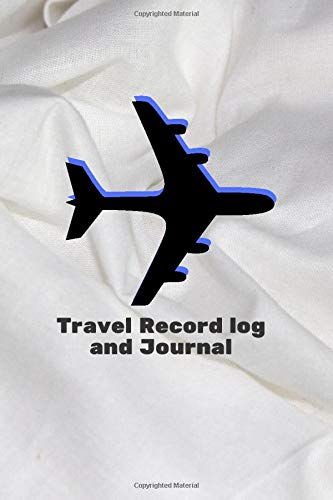Travel Record Log and Journal: Memorable keepsake Journal for All Travel and Road Trips Recording – Ideal for Summer, Christmas, New Year's Holiday ... 110 Pages (Trip Diary) [Idioma Inglés]
