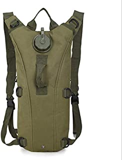 3L TPU Hydration System Bladder Water Bag Pouch Backpack Hiking Climbing Arm Green