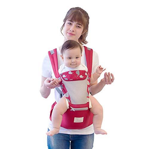 NANE Babytrage Bauchtrage 3,5-20Kg Für Neugeborene 6 in 1 Ergonomische Baby Trage Für Alle Jahreszeiten