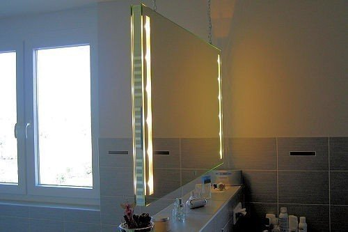 Spiegel Raumteiler Cleo Stare ILLUMINARE S 60x70cm