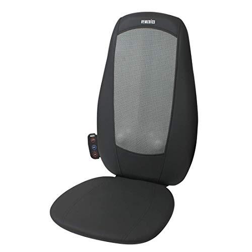 4beauty Back Neck Rolling Shiatsu Massage Chair Full Body Cushion Seat Massager w/Heat