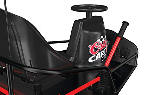 Razor Crazy Cart XL - 36V Electric Drifting Go Kart - Variable Speed, Up to 14 mph, Drift Bar for Controlled Drifts, Adult-Size Fun