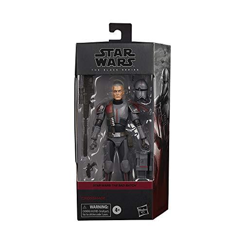 Star Wars Black Series Bad Batch Crosshair 6 Pulgadas The Clone Wars Figura Coleccionable, Juguetes para niños a Partir de 4 años (Hasbro F1860)
