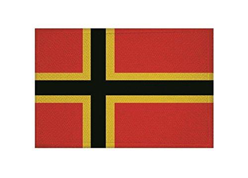 U24 Aufnäher Deutscher Widerstand Fahne Flagge Aufbügler Patch 9 x 6 cm