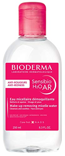 Bioderma Sensibio H2O AR 4-in-1 Anti-Rötungen Mizellen-Reinigung, 250 ml