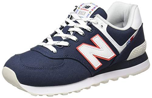 New Balance ML574SOP, Scarpa da Trail Running Bambino, Navy, 32 EU