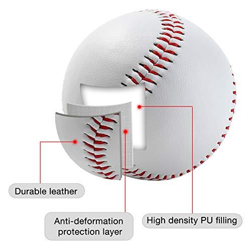 HIMETSUYA 4 Pack Baseballs 9