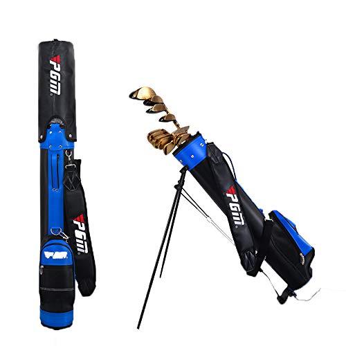 Golfschlägertasche mit Ständer, Männer und Frauen des Clubstation-Pakets Kann 9 Schläger aufnehmen, Die Golfplatz-Golftasche mit Griffen, Junior-Golfausrüstung ist Ultraleicht tragbar