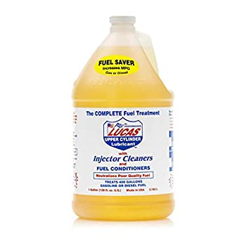 Lucas Oil 10013 Upper Cylinder Lubricant Fuel Treatment -  1  Gallon 4-PACK