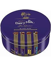 Cadbury Milk Chocolate Assortment Tin (Plain, Bubbly, Flake, Oreo), 500 gm