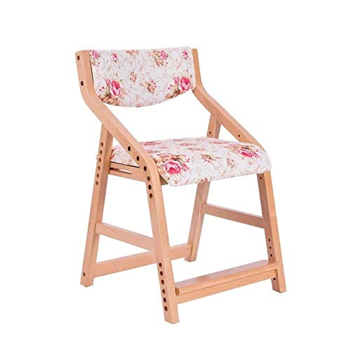 Daily Equipment Gaming Chair Computer Chairs Children's Desk Chairs Wooden Children's Study Chair/Armchair/Seat Corrective Sitting Posture/Anti myopia/Humpback/Adjustable Height For Home/Computer T
