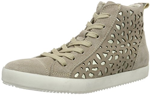 Tamaris Damen 25220 High-Top, Beige (Pepper/Gold 396), 39 EU