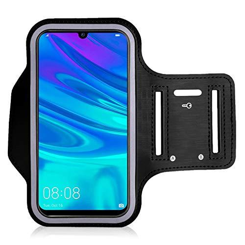 Brazalete para Huawei P Smart 2019   P Smart 2020 – para correr, ciclismo, senderismo, piragüismo, caminar, montar a caballo y otros deportes para Huawei P Smart 2019 P Smart 2020 (Negro)