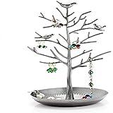 NZBZ - Estante para joyas, diseño vintage de pájaro