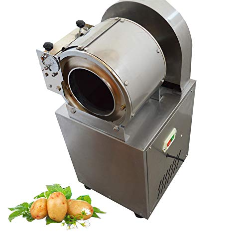 Intbuying 220V 1500W Stainless Steel Vegetable Cutter Slicer Electric Machine Kitchen Chopper Best Food Dicer